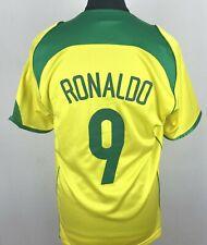 Brasil Ronaldo Football Shirt Men's Size M Soccer Jersey Brazil Camiseta