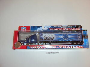 NFL 2006 Colts 1:80 scale DieCast Collectible Limited Edition Tractor-Trailer
