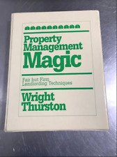 Property Management Magic By Wright Thurston - MANUAL & Cassettes - Complete
