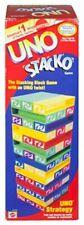 UNO Stacko 43535 Block tower family game Mattel balance game 0698887782487