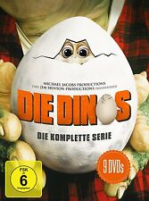 JIM HENSON'S THE DINOSAURS - SEASONS 1 2 3 4 SERIES 1-4 New (9 DVD) PAL Region 2