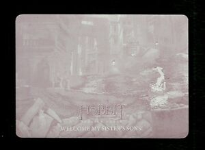 The Hobbit The Battle of the Five Armies Printing Plate Magenta Card #20
