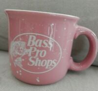 Bass Pro Shops Mug, Large 22 Oz., Speckled Pink, EUC
