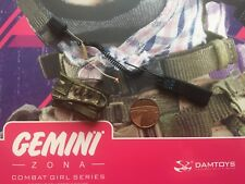 DAMTOYS Combat Girl GEMINI zona Radio & astuccio loose SCALA 1/6th