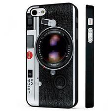 Vintage Leica Cámara Fotografía teléfono negro Funda Encaja iPHONE
