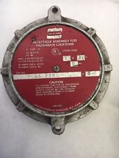 crouse hinds FSQA 233 used haz loc receptacle 3ph 3w 4p assy see pictures #C1