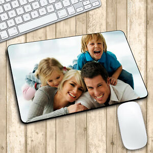 PERSONALISED MOUSE MAT XMAS GIFT YOUR PHOTOS / DESIGNS / TEXT PRINTED CUSTOMISED