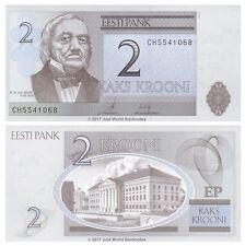 Estonia 2 Krooni 2007 P-85b Banknotes UNC