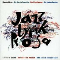 "MANFRED KRUG & ANDERE ""JAZZ-LYRIK-PROSA"" CD NEUWARE"