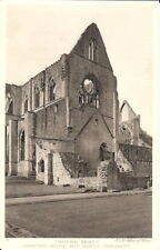 Wales: Tintern Abbey, Chapter House and North Transept - B&W - Unposted c1930s