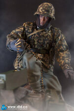 """DID 1/6 Scale 12"""" WWII German Panzer Division MG-34 Gunner Baldric Figure D80125"""