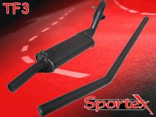 Sportex Ford Escort mk1, mk2 performance exhaust system 1.3, 1.6, X Flow, Mexico