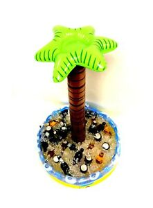 Inflatable Palm Tree Beverage Cooler, by Playscene (4 FEET TALL)