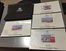 # MERCEDES C CLASS W202 OWNERS MANUAL HANDBOOK & FOLDER PACK 1993-2000 C180 C200