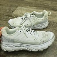 Hoka One One Clifton 6 Women's Running Shoes - White/Rose Gold - Sz 6.5