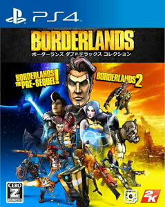 Borderlands Double Deluxe Collection Sony PS4 Games From Japan Tracking# USED
