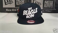 The Beagle Boys Midnight New Era Snapback Hat Dark Blue White RARE