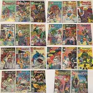 Set of Thundercats Comics 1986 1-22, 24 Plus Extras