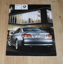 BMW 3 Series E92 Coupe Brochure 2008 328i 328xi 335i 335xi - US Market