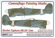 AML 1/72 Hawker Typhoon Mk.Ib / Late Version Camouflage Painting Masks # M7311