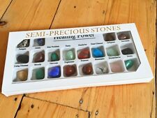 20 CRYSTAL HEALING POWER GEMSTONE COLLECTION NEW AGE REIKI MINERALS GEOLOGY