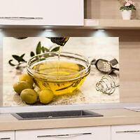 Kuchenruckwand Glas Kuche Eigenes Motiv Spritzschutz Herd Esg Glasbild Platte Ebay