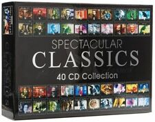 Spectacular Classics 40 CD Collection , classical music new and sealed