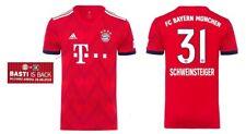 Trikot FC Bayern 2018-2019 Home - Schweinsteiger 31 [164-3XL] Basti is Back