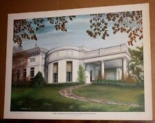 The President's Office at the White House by CG Morehead Kentucky Artist