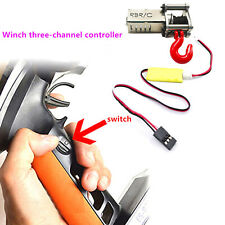 Metal Winch 3 Ways Wireless Remote Controller For 1/12 1/16 WPL MN Climbing Car