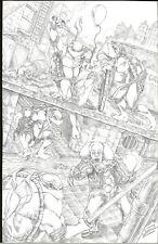 Teenage Mutant Ninja Turtles Pennywise IT Original Art Nikkol Jelenic TMNT 1/1