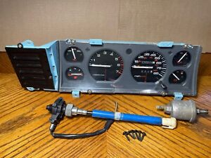 1987-1990 Jeep Cherokee XJ Comanche MJ instrument gauge cluster tach OEM Renix