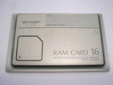 SHARP CE-202M, RAM CARD, 16KB Speichererweiterung für PC Pocket Computer #240