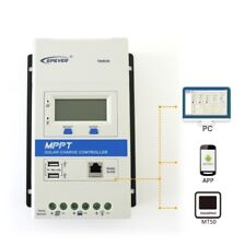 EPEVER TRIRON MPPT Solar Charge Controller 10/20/30/40A, with Dual USB Ports