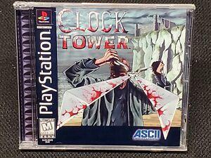 REPRODUCTION Clock Tower (PS1)  Full Manual, No Game