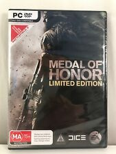 Medal of Honor Limited Edition PC Game BRAND-New Sealed, 2010 PC Video Game