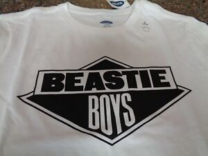 Old Navy Baby Beastie Boys SS White T-Shirt Youth Boys Large (10-12) NWT Tee