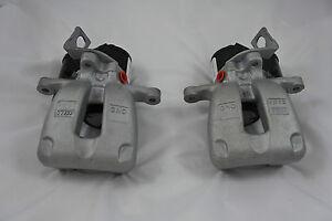 GENUINE VW Passat B6 Rear LEFT + RIGHT TRW electric brake calipers 05-07 EPB