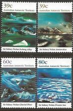 Australian ANTARCTIC Territory 1989 NOLAN PAINTINGS (4) Unhinged Mint SG 84-87