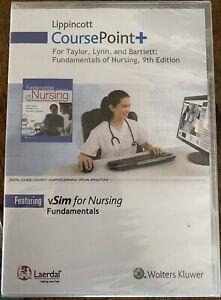 Lippincott CoursePoint Taylor Lynn Bartlett Fundamentals of Nursing 9th Edition