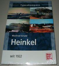 Typenkompass Heinkel Flugzeuge Flugzeug seit 1922 Typen Kompass Buch NEU!