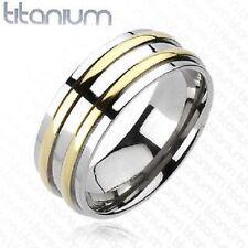 Titanium Band Fine Rings