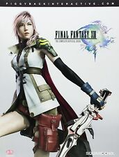Final Fantasy XIII  PS3 Game  & Strategy Guide Complete 256 Pagesw