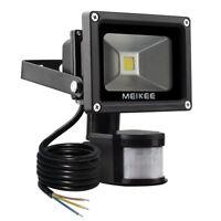 MEIKEE 10W Motion Sensor Light Super bright LED Flood Lights High Output 60W