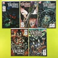 Venom Dark Origin #1 2 3 4 5  Marvel NM 9.4