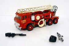 "TRANSFORMERS INFERNO Vintage G1 Action Figure 5"" Firetruck 1985"