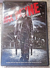 DVD Max Payne Mark Wahlberg Theatrical and Unrated Versions Widescreen