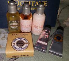 L 'Occitane mixtas Juego-Cherry Blossom Shower Gel, Loción & Jabón de Manos CRM, etc. Nuevo