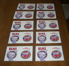 10 ELKS BEER 100th ANNIVERARY IRON CITY BEER FLATS 1879 - 1979 WHOLESALE PRICES