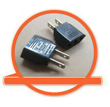 EU Europe Female to US USA Male Wall AC Power Plug Travel Adapter Converter LC
